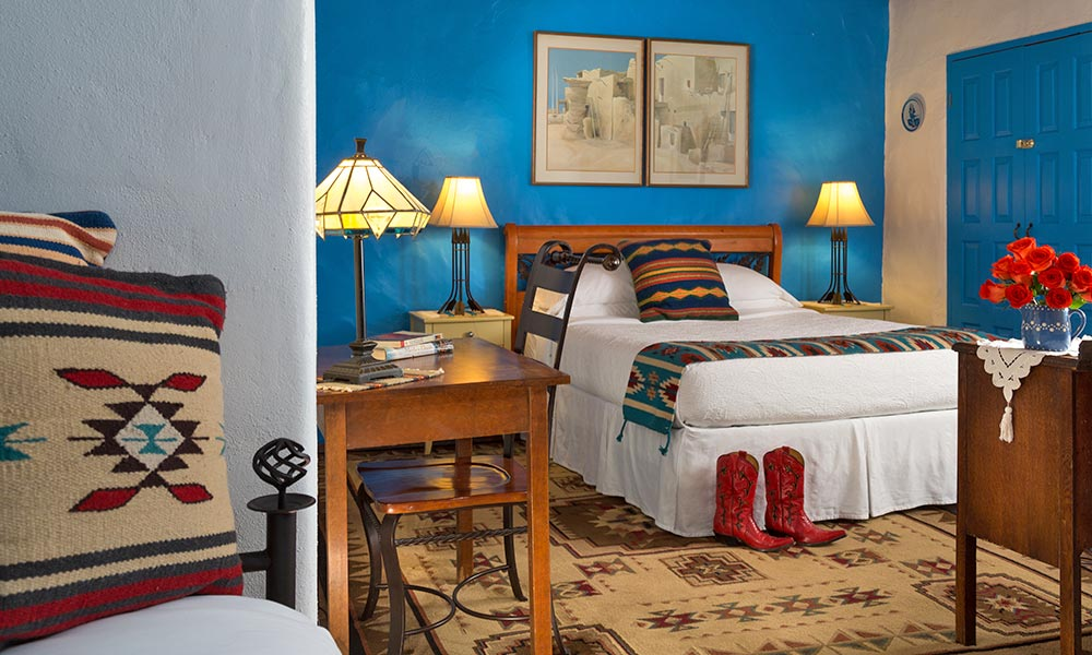 New Mexico Bed and Breakfast Guest Rooms at Casa Escondido
