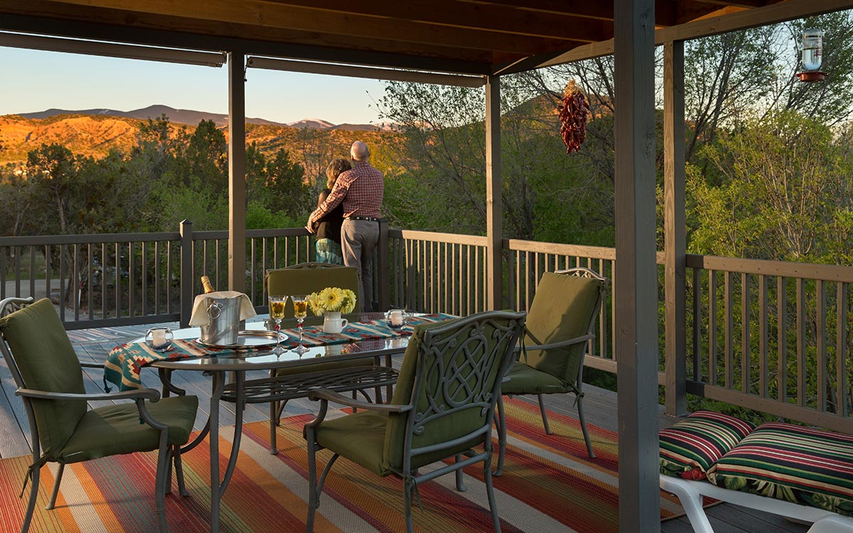 After shopping at the Santa Fe Indian Market, Relax and Unwind at our #1 rated New Mexico Bed and Breakfast