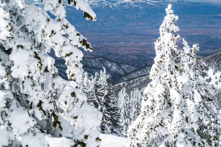 Enjoy beautiful scenery and fun things to do in Santa Fe This Winter