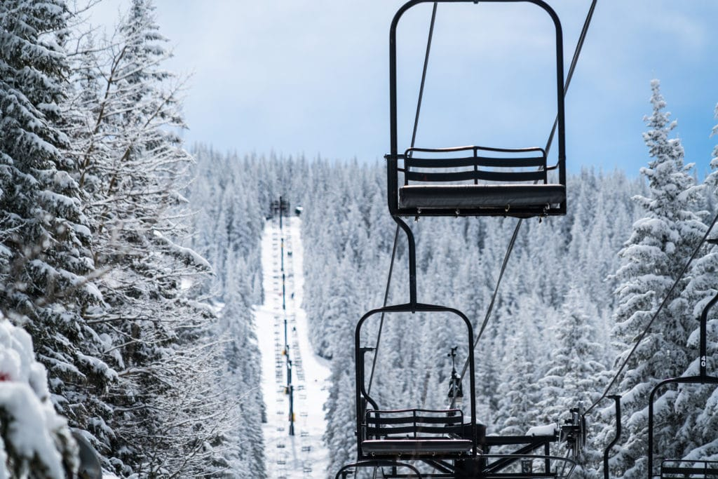 Ski Santa Fe is a gorgeous winter destination in Northern New Mexico.