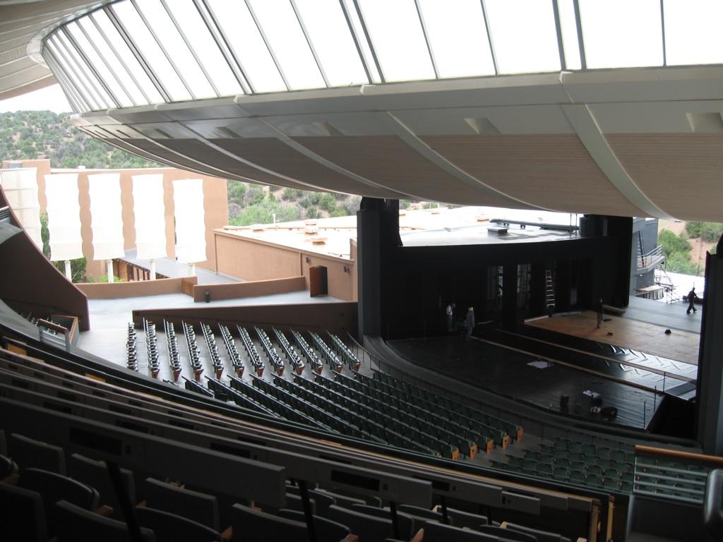A look inside the Santa Fe Opera House.