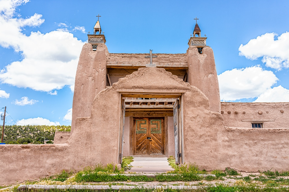Visit the Town of Las Trampas on the High Road to Taos Scenic Byway