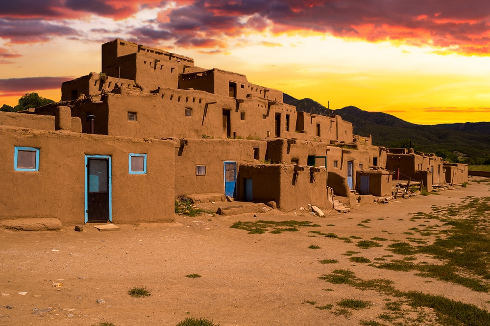 End your journey on the High Road to Taos at the beautiful town of Taos