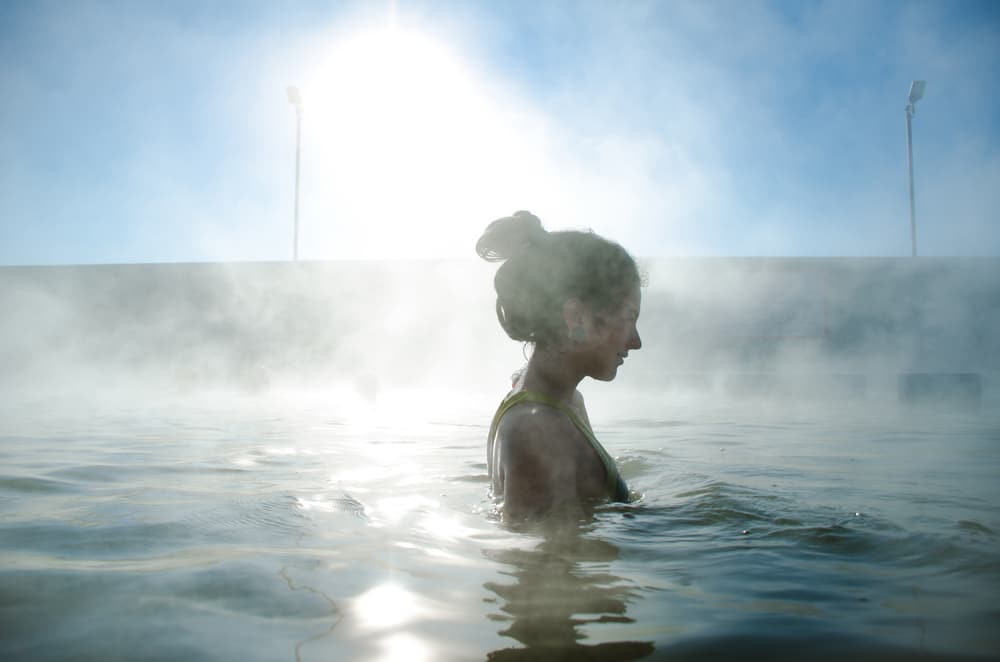 Relax and unwind in the Mineral Hot Springs at Ojo Caliente This Winter