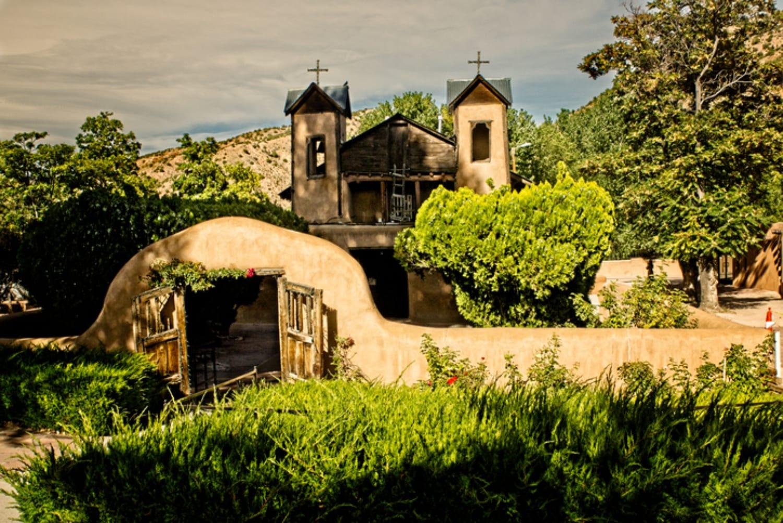 The El Santuario de Chimayo in Chimayo, NM, One of the Best Small Towns Near Santa Fe
